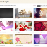 Animoto slide show video themes